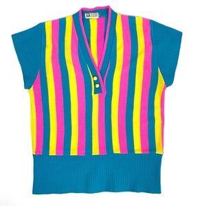 Vintage Striped Knit Shirt
